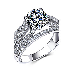 for Women Ring 925 Sterling Silver Jewelry Cubic Zircon Rings Valentine's Day Gift