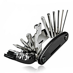 16 in 1 Multi-Function Bike Bicycle Cycling Mechanic Repair Tool Kit