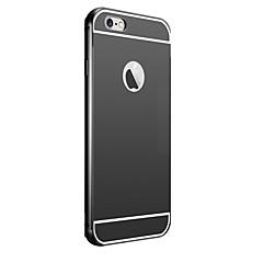galvanizáló tükör vissza fémvázas telefon tok iPhone 5c (vegyes színek)