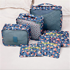 Baggage Packing Bag Storage Bag Finishing Finishing Travel Clothing Underwear Bag Six Suit