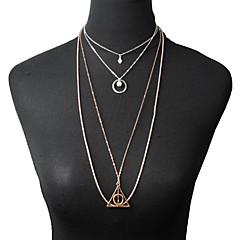 Modische Halsketten Anhängerketten Schmuck Alltag / Normal Modisch Aleación / Türkis Goldfarben 1 Stück Geschenk