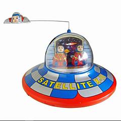nowością Zabawka / Puzzle Toy / Zabawka nakręcana nowością Zabawka / / Okrągły / Statek kosmiczny Metal Brązowy Dla dzieci