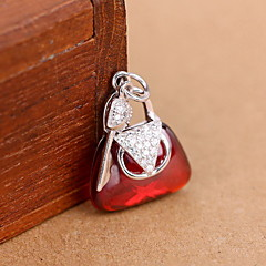 Women's Rose Sterling Silver Pendant 1PC