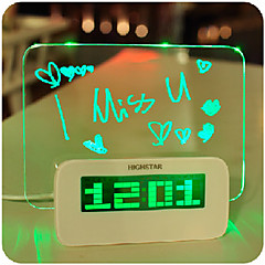 1PC Led Random Color Creative Multifunctional Shine Message Board Lamp Night Light