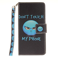 Για Samsung Galaxy Θήκη Πορτοφόλι / Θήκη καρτών / Ανοιγόμενη / Με σχέδια tok Πλήρης κάλυψη tok Λέξη / Φράση Σκληρή Συνθετικό δέρμα Samsung