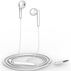 HUAWEI AM115 Half in-ear Earphone with Microphone FOR HUAWEI MATE8/P9/HONOR 7I/HONOR V8