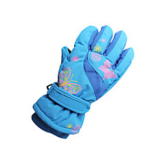 Winter Gloves Unisex Keep Warm Ski & Snowboard Red / Pink / Blue / Orange Canvas Free Size-Others