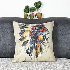 Bielizna / Syntetyczny Pokrywa Pillow,Wzory graficzne Przypadkowy