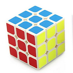/ Cubes magiques 3*3*3 / Cube de vitesse lisse Arc-en-ciel ABS Jouets