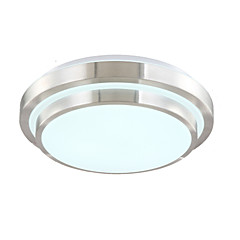 15w ; 90-240v Flush Mount ,  Modern/Contemporary Electroplated Feature for LED Acrylic Living Room / Bedroom / Dining Room
