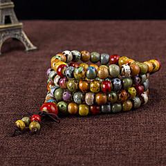 Strand Bracelets 1pc,Assorted Color Bracelet Fashionable Circle 514 Ceramic Jewellery