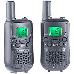 walkie-talkie ajándékok gyerekeknek 8 csatorna PMR 2 utas rádió akár 5km UHF kézi walkie-talkie (pack of 2)