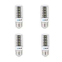 7W E14 G9 GU10 B22 E26/E27 Bombillas LED de Mazorca B 64 SMD 5733 600 lm Blanco Cálido Blanco Fresco Decorativa AC 100-240 V 4 piezas