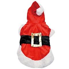 Perros Vestidos Rojo Ropa para Perro Invierno / Primavera/Otoño Clásico / Navidad Boda / Navidad / San Valentín / Vacaciones / Moda