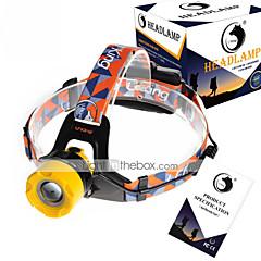 U`King® Czołówki Pasy reflektorów LED 2000LM Lumenów 3 Tryb Cree XM-L T6 18650Przyciemniany Regulacja promienia Akumulator Niewielki
