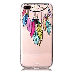 Per il silicone molle trasparente di tpu del silicone trasparente per il iphone 7plus / iphone 7 per il iphone 6 più / iphone 6