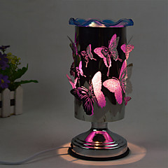 1pc aangesloten op elektriciteit touch-gevoelige vlinder essentiële oliën geur lamp gift