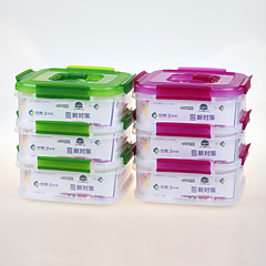 YOOYEE  Brand Take Away Wholesale 3 Layer Food Grade Sealed Food Container with Lock