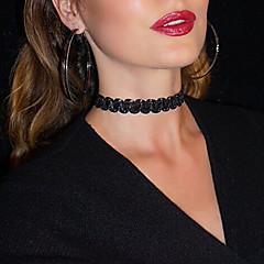 Halsband Choker-Halsband Smycken Party / Dagligen / Casual Sexig / Mode Spets Svart 1st Present