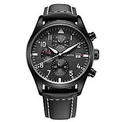 OCHSTIN  Men's Import Multi-function Stop Watch Calendar Quartz Sport Wrist Watches Luminous Calendar Display  Waterproof Hardlex Mirro