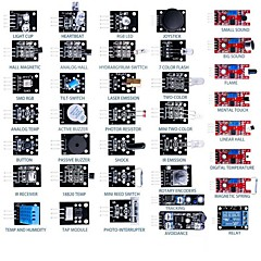 37-in-1 Arduino Sensormodul 60pcs Widerstände Learning Kit
