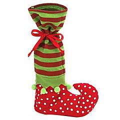 ihana joulupukki tonttu kenkä boot henkselit pant karkkia lahjapussi joulukoristeita