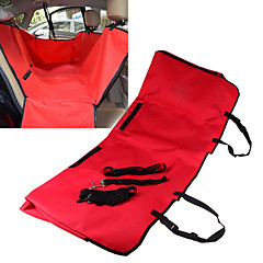 Cat / Dog Car Seat Cover Pet Travel Hammock Mat Waterproof / Foldable Fabric / Oxford Red / Black / Blue / Brown / Gray