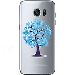 Για Samsung Galaxy S7 Edge Με σχέδια tok Πίσω Κάλυμμα tok Δέντρο Μαλακή TPU Samsung S7 edge / S7 / S6 edge plus / S6 edge / S6