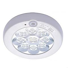 7W 6500K PIR Sound & Light Control Ceiling Lamp Body Infrared Switch(AC220-240V)