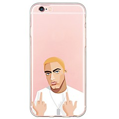 Mert iPhone 6 tok / iPhone 6 Plus tok Ultra-vékeny / Áttetsző Case Hátlap Case Punk Puha TPU AppleiPhone 6s Plus/6 Plus / iPhone 6s/6 /