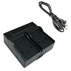 VBK180 Digital Camera Battery Dual Charger for Panasonic VBK180 VBK360 VBT190 VBY100 HC-V110 V210 V520 V720 GK