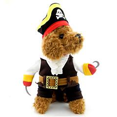 Γάτα Σκύλος Στολές Ρούχα για σκύλους Στολές Ηρώων Halloween Νεκροκεφαλές Μαύρο