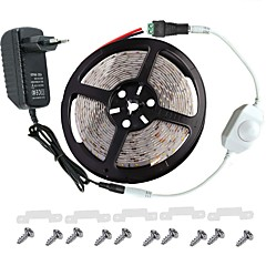 led nauhat pakki -3528 -300 ledit IP65 sisältää 3a virtalähde (36 wattia) ja himmennin - led nauha light liitin
