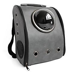 Gato / Perro Transportines y Mochilas de Viaje / El astronauta de la cápsula portadora Mascotas Portadores Portátil / Transpirable Gris