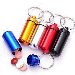 Key Chain Cylindrical High Quality Key Chain / Multifunction Rainbow Metal / Aluminium