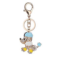 avrupa ve abd yeni gerçekçi anahtarlık sevimli köpek anahtarlık çanta araba anahtarı kolye Sevgililer Günü hediyesi fabrika doğrudan satış