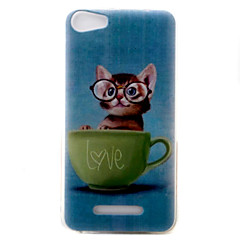 For Wiko Lenny3 Lenny2 Phone Case Cover kitten Pattern Painted TPU Material for Wiko U FEEL U FEEL Lite Sunny Jerry
