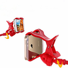 Montajlı Telefon Tutucu Stand Büro / Yatak 360° Dönüş / Ayarlanabilir ayaklık ABS for Cep Telefonu
