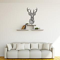 Eläimet / Muodot / Abstrakti Wall Tarrat Lentokone-seinätarrat Koriste-seinätarrat,PVC materiaali Irroitettava Kodinsisustus Seinätarra
