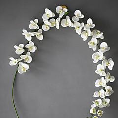 Set of 1 PCS 1 haara Polyesteri Orkideat Pöytäkukka Keinotekoinen Flowers Long 78(inch)