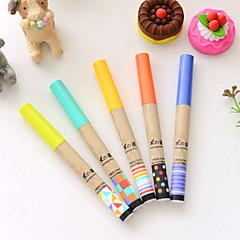 Akcesoria korekcyjne Długopis Wkłady Długopis Beczka Losowe kolory Atrament Kolory For Przybory szkolne Artykuły biurowe Paczka