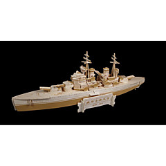 Jigsaw Puzzles Wooden Puzzles Building Blocks DIY Toys Warship 1 Wood Ivory Puzzle Toy