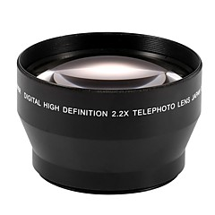 67mm 2.2x Telephoto Tele Lens for Canon EOS 550D 600D 650D 700D 60D 70D 18-135mm Lens Nikon 18-105mm Lens