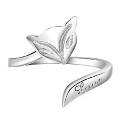 Ringe / Party Smykker Sølv Dame Ring 1pc,En størrelse Sølv