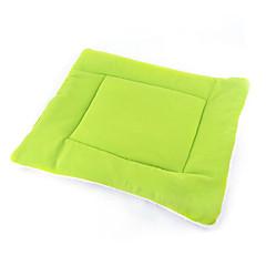 Gato / Perro Camas Mascotas Colchonetas y Cojines Portátil / Doble Lado / Transpirable / Plegable Verde / Azul / Marrón / Rosa / Naranja
