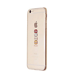 Voor iPhone 8 iPhone 8 Plus iPhone 7 iPhone 7 Plus iPhone 6 iPhone 6 Plus iPhone 5 hoesje Hoesje cover Transparant Patroon Achterkantje