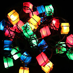 크리스마스 장식 조명 선물 가방 기사는 빛 트리 조명에게 봄 축제 장식 28lamp 소켓을 반짝 주도