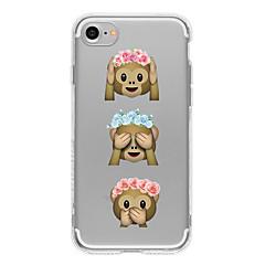 For iPhone 7 etui iPhone 7 Plus etui iPhone 6 etui Mønster Etui Bagcover Etui Tegneserie Blødt TPU for AppleiPhone 7 Plus iPhone 7 iPhone