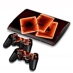 B-Skin Tasker, Etuier og Overdæksler / Klistermærke For Sony PS3 Nyhed