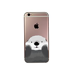 Lovely bear  TPU Fashion of Coloured Drawing Or Pattern Following For  iPhone 7 7 Plus 6s 6 Plus SE 5s 5